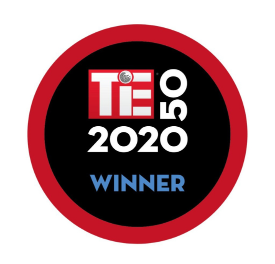 TiE 50 Winner, 2020
