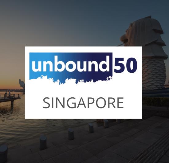 Unbound 50, Singapore, 2018
